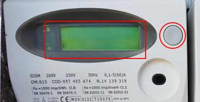 codice POD contatore luce